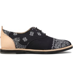 Thorocraft Bandana Black Hampton Shoes Picutre