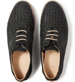 Thorocraft Black Ross Shoes Model Picture