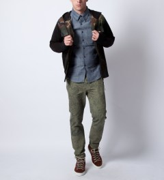 Ucon Olive Everell Chino Pant Model Picture