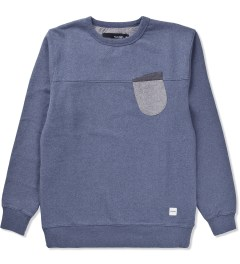 Ucon Federal Blue/Melange Aden Sweater Picutre