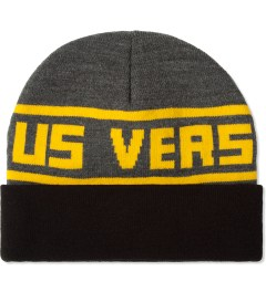 Us Versus Them Charcoal Fargo Beanie  Picture