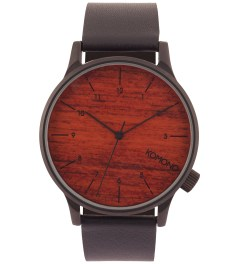 KOMONO Black Wood Winston Watch Picture