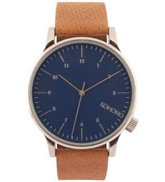 KOMONO Blue Cognac Winston Watch  Picutre