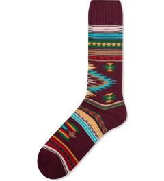 CHUP Burgundy Hosipino Sock  Picture