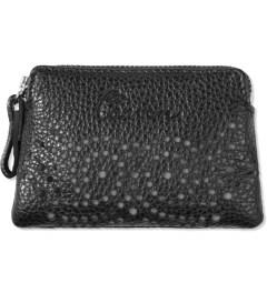 Carven Black Phosphorescent Leather Purse Picture