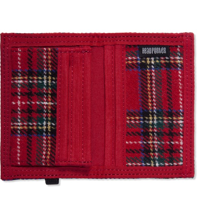 Red Lesson Band Card Case
