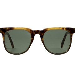 KOMONO Green Tortoise Riviera Sunglasses Picutre