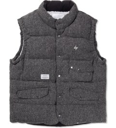 Liful Grey Wool Down Vest  Picutre