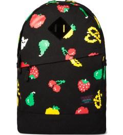 Mishka Black Munchies Knapsack Backpack  Picture