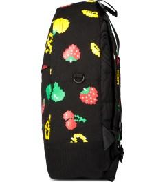 Mishka Black Munchies Knapsack Backpack  Model Picture