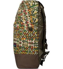 Mishka Olive King Jaffe Knapsack Backpack  Model Picutre