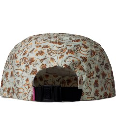 Mishka Wheat Animal Parade 5-Panel Cap  Model Picture
