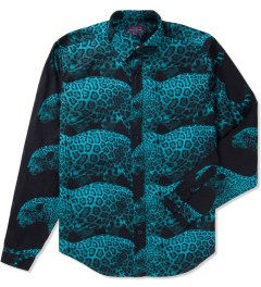 Mishka Cool Aqua Rio Button-Up Poplin Shirt  Picture