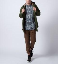 Mishka Dawn King Jaffe Button-Up Poplin Shirt  Model Picture