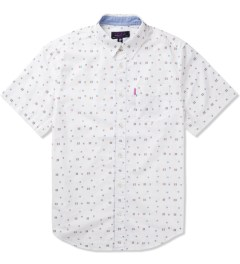 Mishka White Territory Button-Up Shirt  Picture
