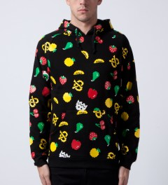 Mishka Black Munchies Pullover Hoodie Model Picture
