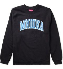 Mishka Black Cyrillic Varsity II Crewneck  Picture