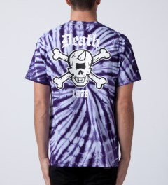 Mishka Purple Tie-dye Death 1978 T-Shirt Model Picture