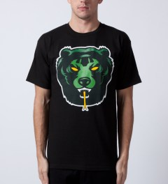 Mishka Black Death Adder T-Shirt Model Picutre
