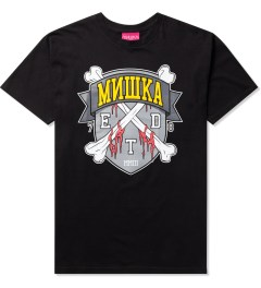 Mishka Black 10 Year ETD Crest T-Shirt Picture