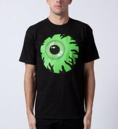 Mishka Black Keep Watch T-Shirt Model Picutre
