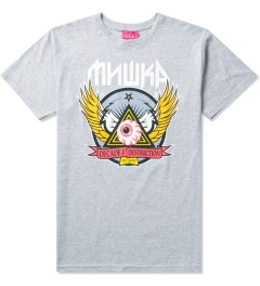 Mishka Grey 10 Year Keep Watch Crest T-Shirt Picture
