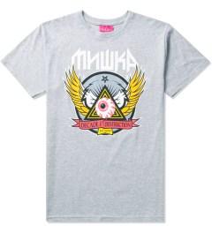 Mishka Grey 10 Year Keep Watch Crest T-Shirt Picutre