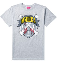 Mishka Grey 10 Year ETD Crest T-Shirt Picture