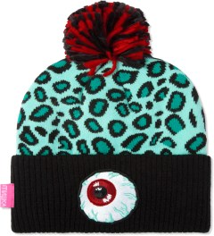 Mishka Seafoam Safari Keep Watch Knit Pom Beanie  Picture
