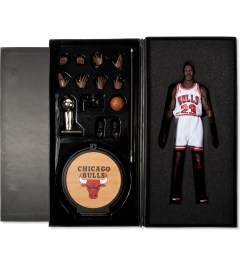 ENTERBAY Real Masterpiece: NBA Collection - Michael Jordan Series 1 #23 Home Edition  Model Picutre