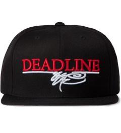SSUR SSUR x Deadline Black Printed Logo Snapback Cap Picutre
