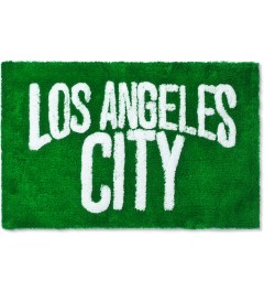 SECOND LAB Green Los Angeles City Rug Picutre