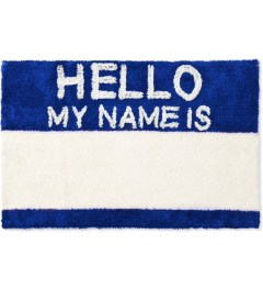 SECOND LAB Blue HELLO MY NAME IS RUG Picture