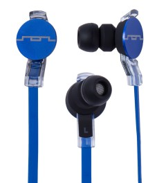 SOL REPUBLIC Blue Amps HD In-Ear Headphones Picutre