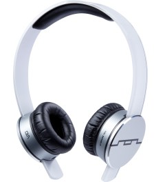 SOL REPUBLIC White Tracks HD MF1 Headphone  Model Picutre