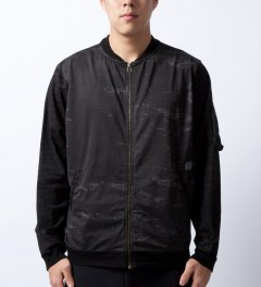 U.S. Alteration Black Multi Camo Jacket  Model Picutre