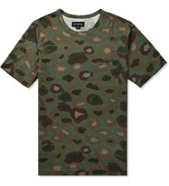 ZANEROBE Leopard Camo Cats With Guns T-Shirt Picture