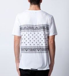 ZANEROBE White Pablo T-Shirt  Model Picture