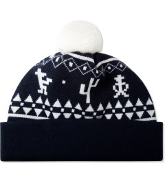 Band of Outsiders Navy Outlaw Fair Isle Hat Picutre