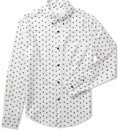 Band of Outsiders White Fighter Oxford Shirt Picture