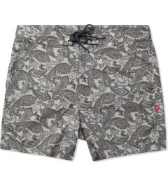 "Bedwin & The Heartbreakers Grey ""Dizzy"" 3/L OG Paisley Pants Picutre"