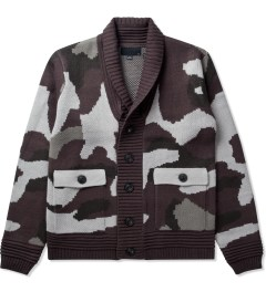Black Scale Black Kaiser Knitwear Jacket  Picture