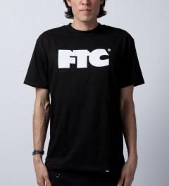 FTC Black OG Logo T-Shirt  Model Picutre
