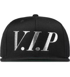 Frank Black/Silver V.I.P Snapback Cap  Picutre