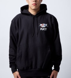 FUCT Black Friends You Can't Trust Suit  Model Picture