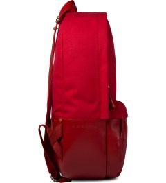 HAERFEST Red F5 Capsule Backpack Model Picture