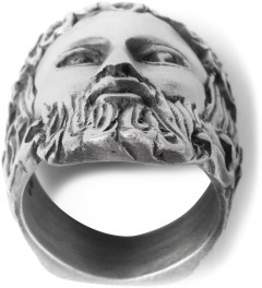 Mister Antique Silver Mr. Zeus Ring  Model Picture