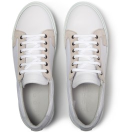 piola White Chincha Baja Shoe Model Picutre