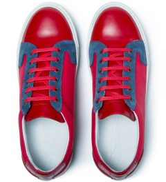piola Red/Blue Chincha Baja Shoe Model Picture