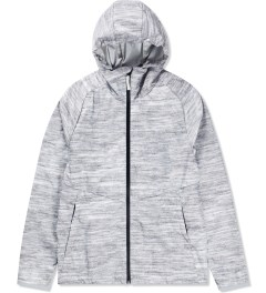 Reigning Champ Heather Ash RC-4019-1 Packable Printed Poly Jacket  Picture